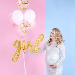 Ballon or Girl Aluminum