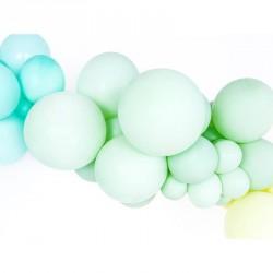 10 Ballons pastel pistache