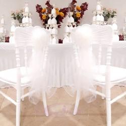 10 Noeuds de chaise en fleur Ivoire