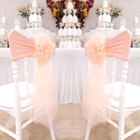 10 Noeuds de chaise en fleur Corail