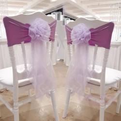 10 Noeuds de chaise en fleur Lilas