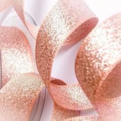 Ruban paillette Rose Gold 25m x 10mm
