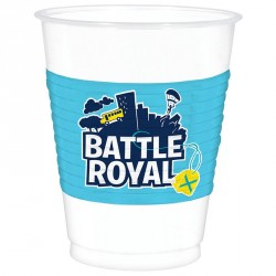 8 Gobelets Fornite Battle Royal en plastique