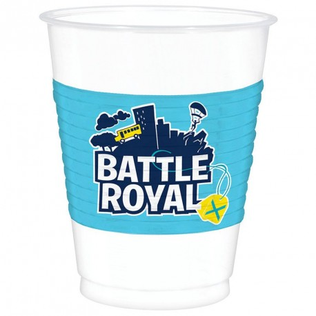 8 Gobelets Fornite Battle Royal en plastique