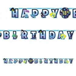 Banderole Fortnite joyeux anniversaire