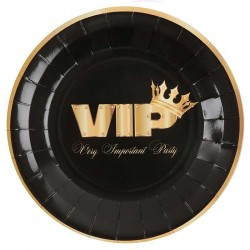 10 Assiettes VIP pour anniversaire