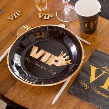 10 Assiettes VIP pour une soirée à thème originale