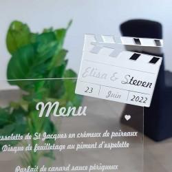 Choisissez un menu cinéma original pour votre mariage