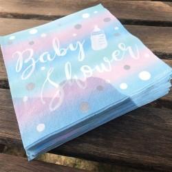 20 serviettes Baby shower