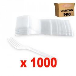 1000 FOURCHETTES 180 TRANSPARENT