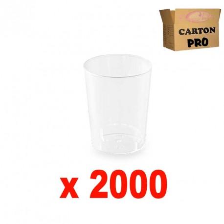 2000 VERRINES RONDES 5 CL