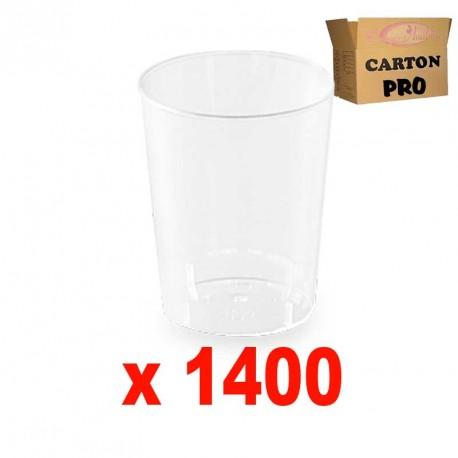 1400 VERRINES RONDES 10 CL