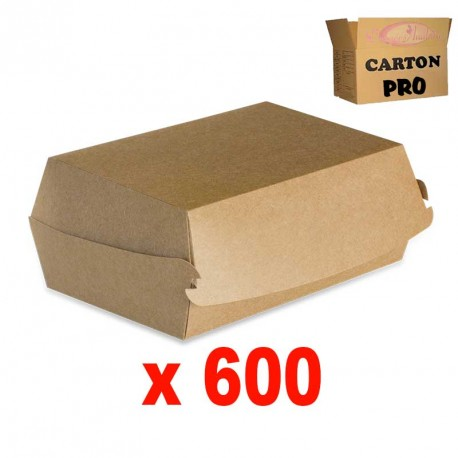 600 BOITES HAMBURGER 155 KRAFT
