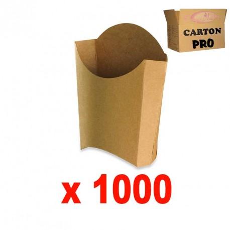 1000 CORNETS A FRITES KRAFT MM