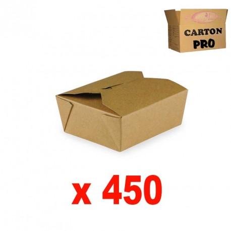 BOITE KRAFT BRUN 480 ML