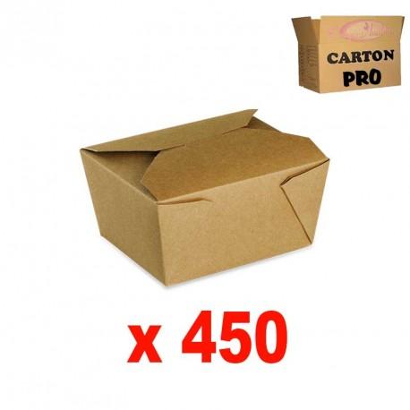 BOITE KRAFT BRUN 780 ML