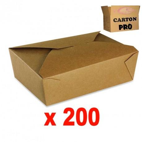 BOITE KRAFT BRUN 2000 ML