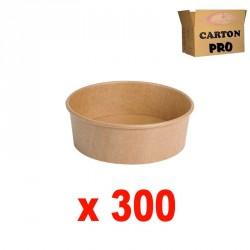 300 POTS A SALADE KRAFT 500ml