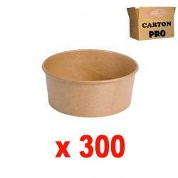300 POTS A SALADE KRAFT 780 ml