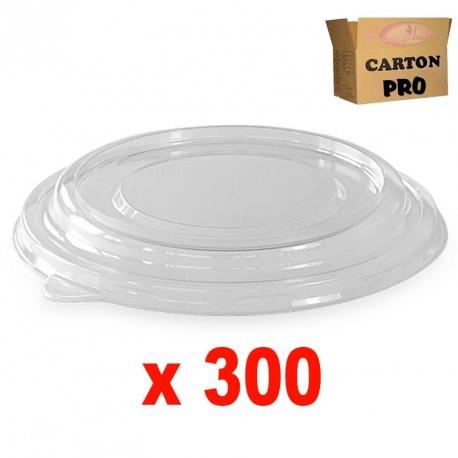 300 COUVERCLES PET POUR SKB 1100