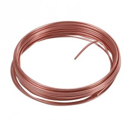 Un fil métal rose gold aluminium pour des décorations surprenantes.