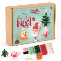 Kit bougie de Noël