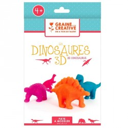 Kit de modelage dinosaures 3D