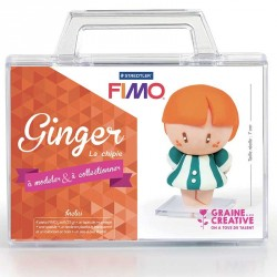 Kit Fimo Ginger la chipie pour enfants