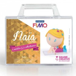 "Kit Fimo ""naia la sirene"" pour enfants"