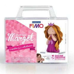 "Kit Fimo ""princesse margot"" pour enfants"