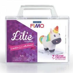 Modelez facilement une petite licorne avec ce kit pâte Fimo pour enfant