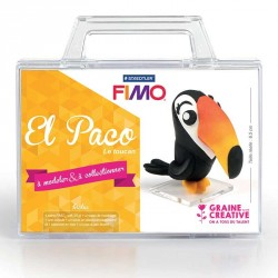 Créez ce petit péroquet en pâte Fimo avec vos enfants