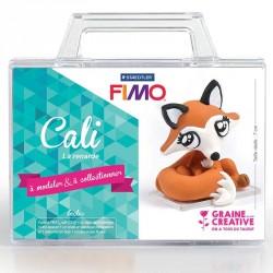 Modeler ce petit renard en pâte Fimo avec vos enfants