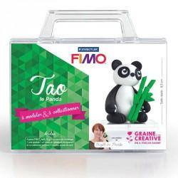 La création de panda en pâte Fimo facile