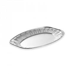10 plateaux de présentation aluminium 35 cm