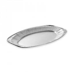 10 plateaux de présentation aluminium 45 cm
