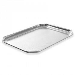10 plateaux de présentation aluminium 37 x 28 cm