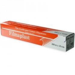 Film alimentaire en boîte distributrice 300m x 45cm