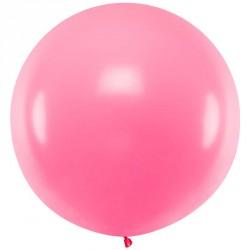 Ballon géant jumbo Rose Pastel 1m