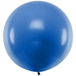 Ballon géant jumbo Bleu Pastel 1m