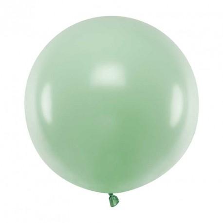 Ballon géant jumbo Pistache Pastel 60cm