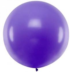 Ballon géant jumbo Lilas Pastel 1m