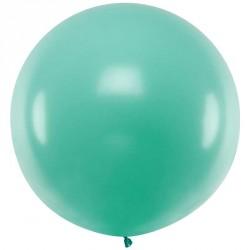 Ballon géant jumbo Vert foret Pastel 1m