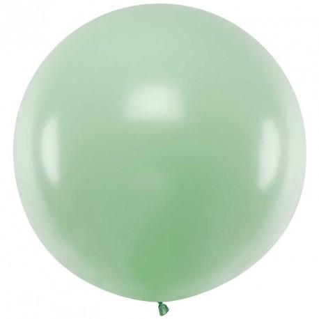 Ballon géant jumbo Pistache Pastel 1m
