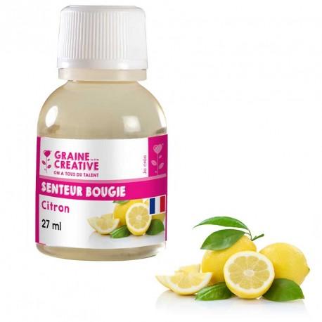 Parfum Citron pour Bougie 27ml