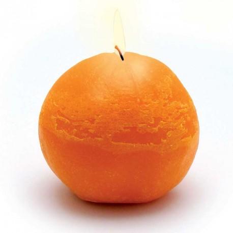 Moule en latex pour bougie en forme d'orange