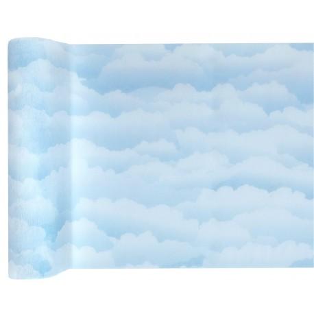 Chemin de Table nuage Bleu ciel