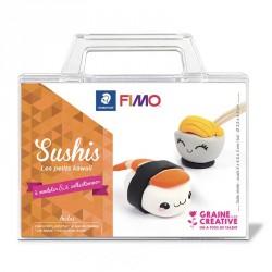 "Kit Fimo "" kawai sushi"" pour enfants"