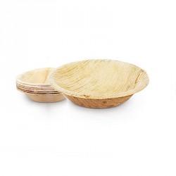 10 Verrines Bol en feuille de Palmier Biodégradables