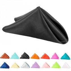 6 serviettes tissu anti tache 50 x 50 cm